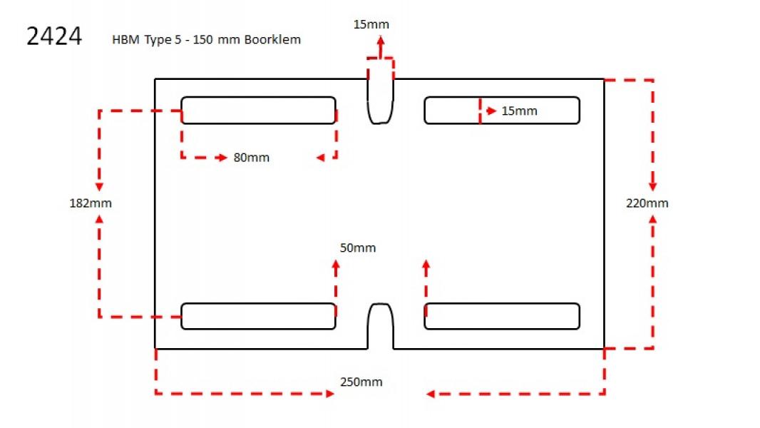 HBM Type 5 Boorklem