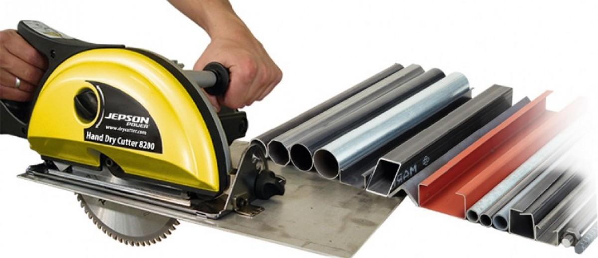 Jepson HDC 8200 Drycutter hand Metaal Cirkelzaag 200 mm