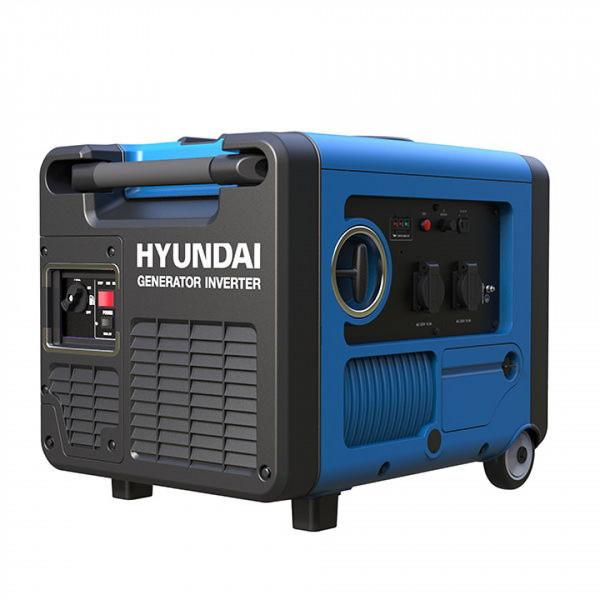 Hyundai 4000W Generator / Inverter met Benzinemotor + Elektrische Start