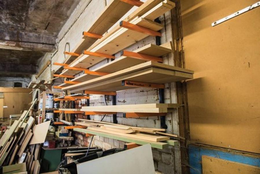Woodrack 6 Laags Planken Opbergbeugels, opbergrek