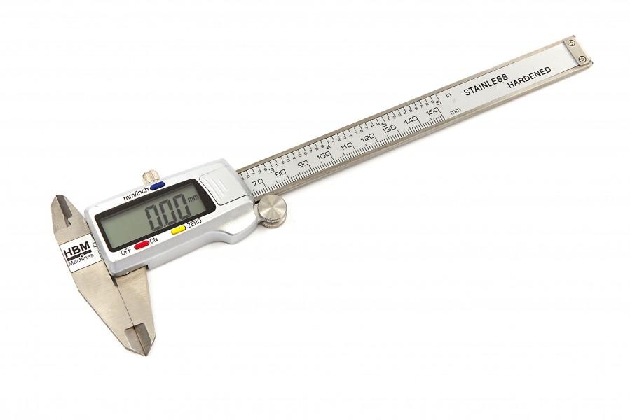 HBM 150 mm Digitale Schuifmaat