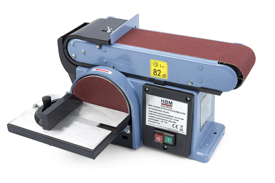 HBM 100 Band en schijfschuurmachine
