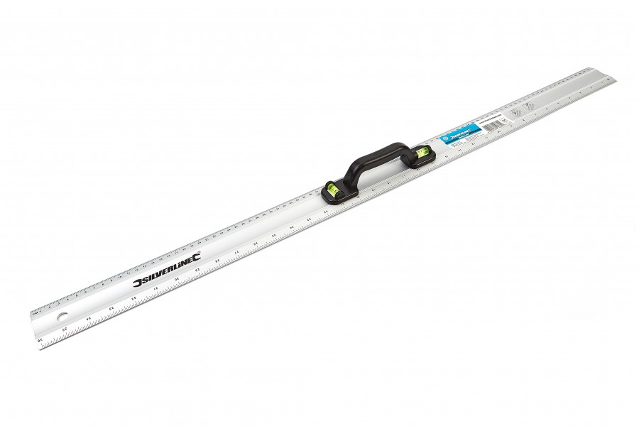 Silverline 910 mm Markeerliniaal met Waterpas