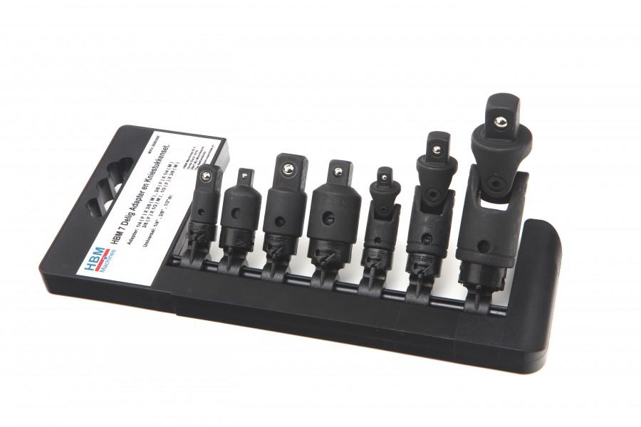 HBM 7 Delige Kracht Adapter en Kniestukkenset