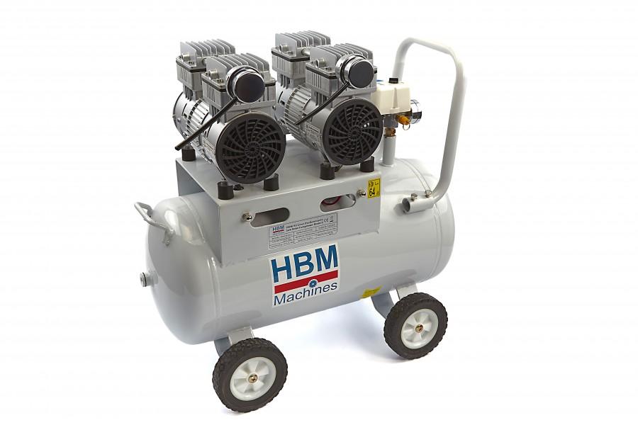 HBM 50 Liter Professionele Low Noise Compressor