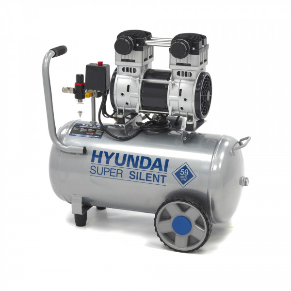 Hyundai 50 Liter Professionele Low Noise Compressor