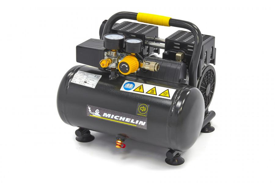 Michelin 6 Liter Professionele Low Noise Compressor