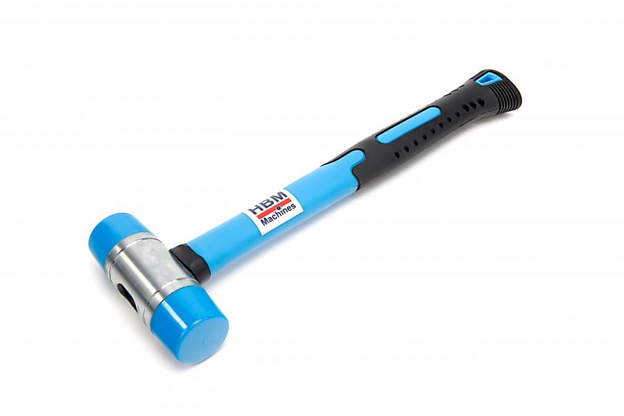 HBM 35 mm Rubberen Hamer met Anti Slip Fiberglas Steel Model 2