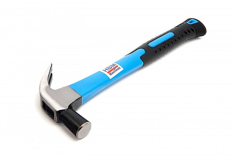 HBM 500 Gram Klauwhamer met Anti Slip Fiberglas Steel