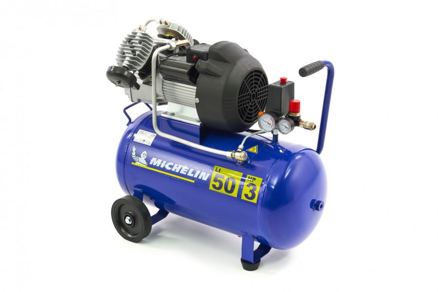 Michelin 3 PK - 50 Liter Compressor MB3650 - 365 Liter Per Minuut