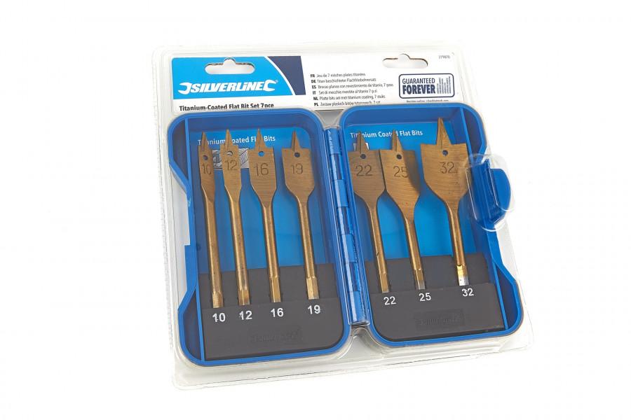 Silverline 7 Delige Tin Speedborenset