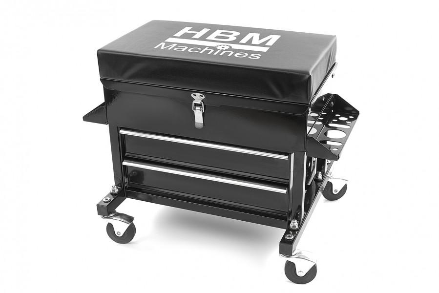 HBM Deluxe Garagestoel Met 2 Laden