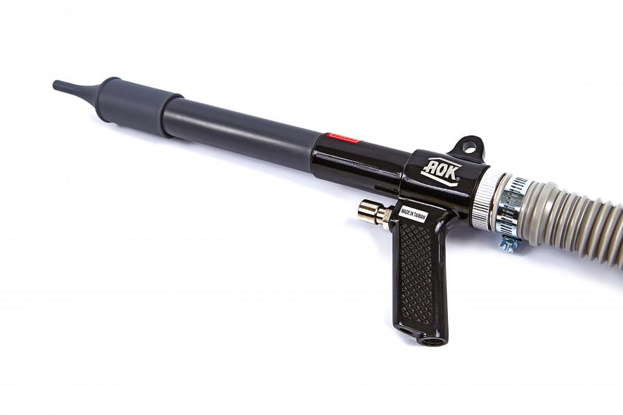 AOK Pneumatisch Blaaspistool en Stofzuiger