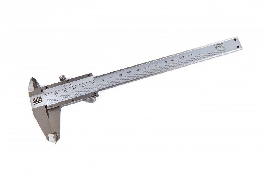 HBM 150 mm Analoge Schuifmaat