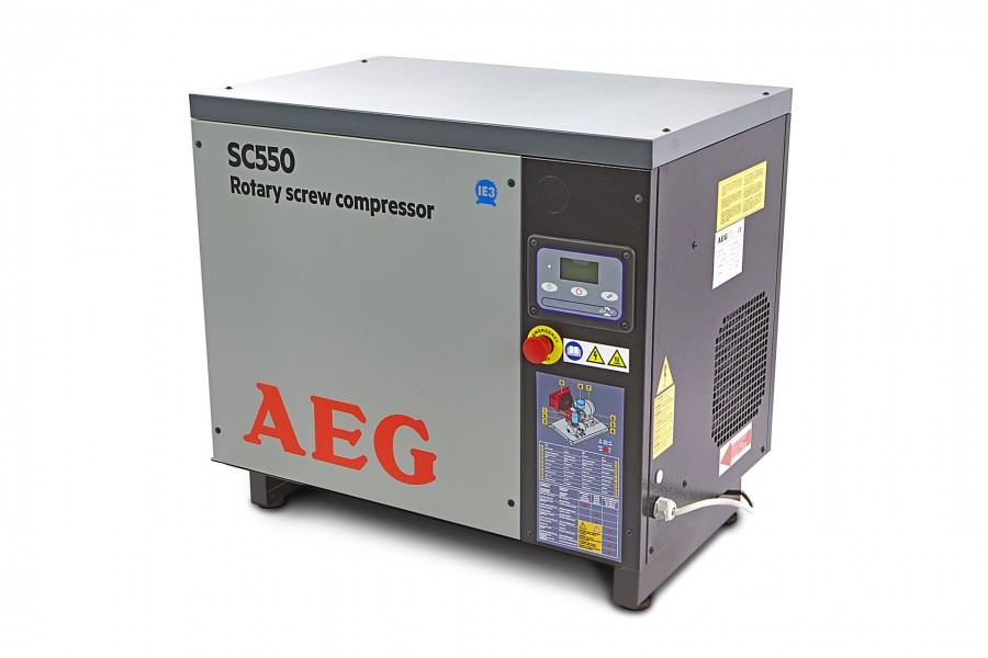 AEG 5,5 PK Schroefcompressor