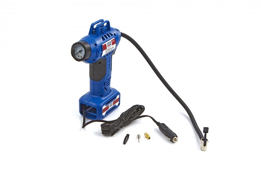 HBM 12 Volt Mobiele Compressor Bandenpompset met LED verlichting