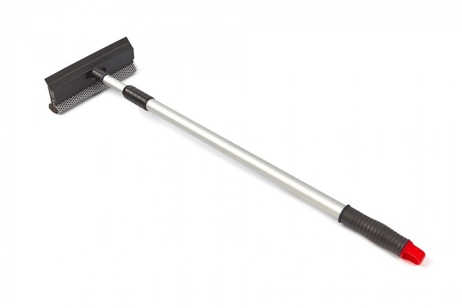 HBM 200 mm Telescopische Raamwisser, Raamtrekker met Spons 70-100cm