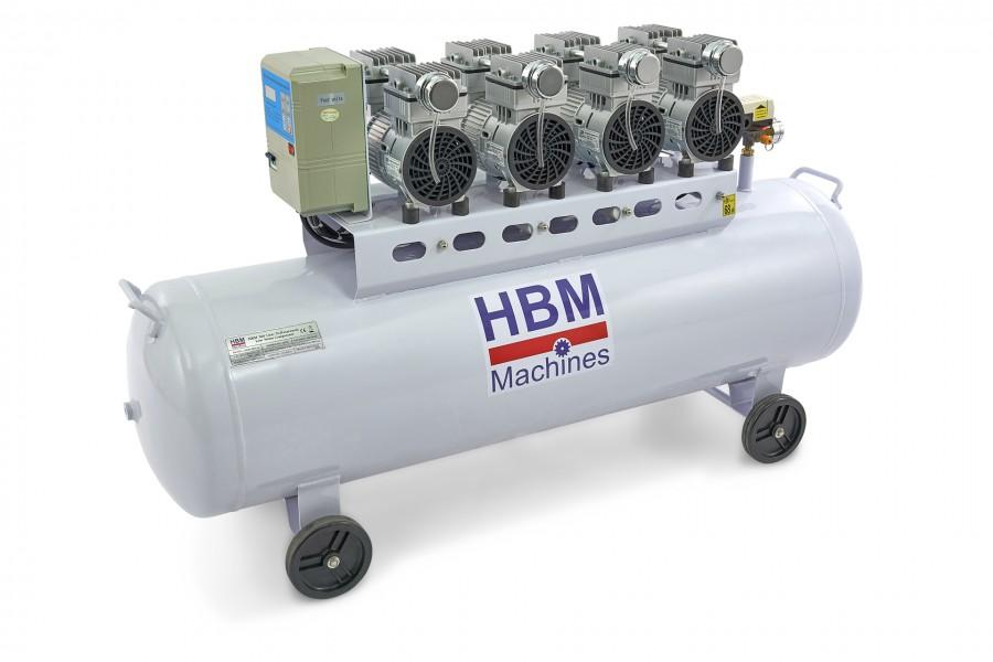 HBM 200 Liter Professionele Low Noise Compressor