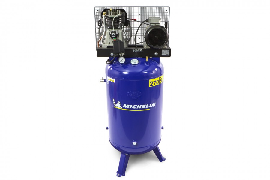 Michelin 270 Liter Verticale Compressor 5,5 Pk