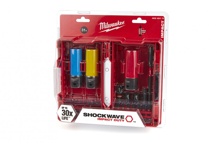 Milwaukee 4932464170 31-delige Shockwave Impact Duty Bitset