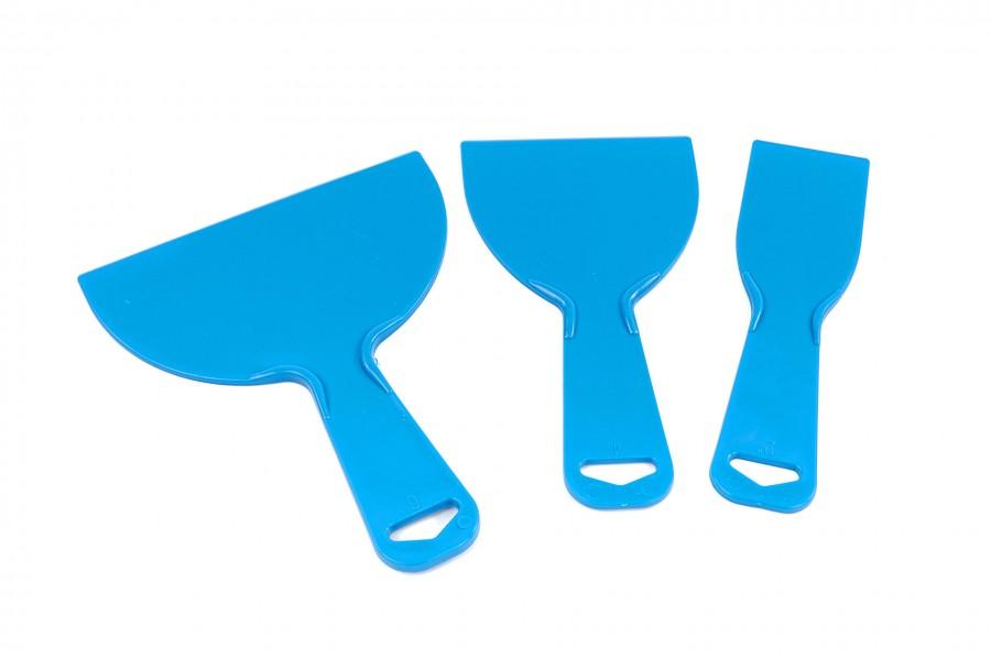 Silverline 3 Delige Plastic schraperset