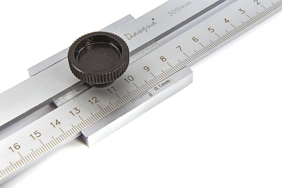 Dasqua Professionele 300 mm Afkrasliniaal