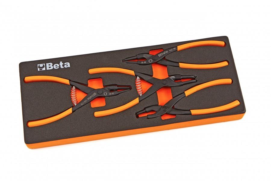 Beta M145 - 4 Delige Zegeringtangen Inlay Foam