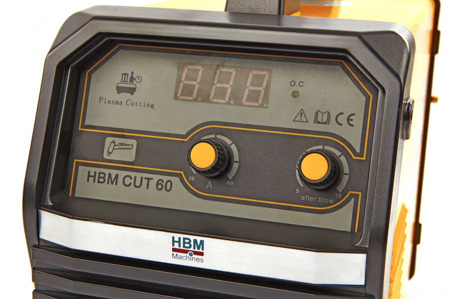 HBM CUT 60 Plasmasnijder met Digitaal Display en IGBT Technologie