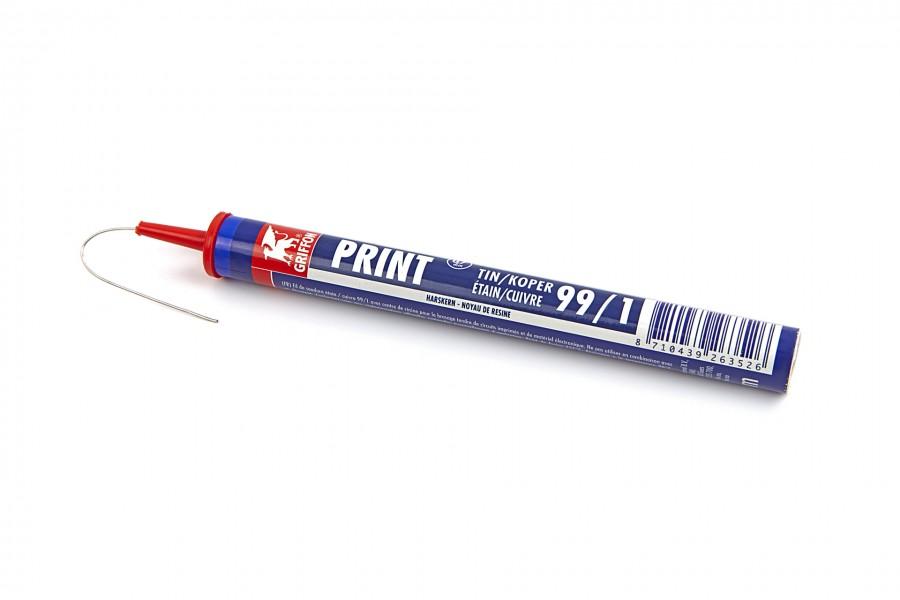 HBM Tin-kokertje 99/1 harskern 0,7 mm