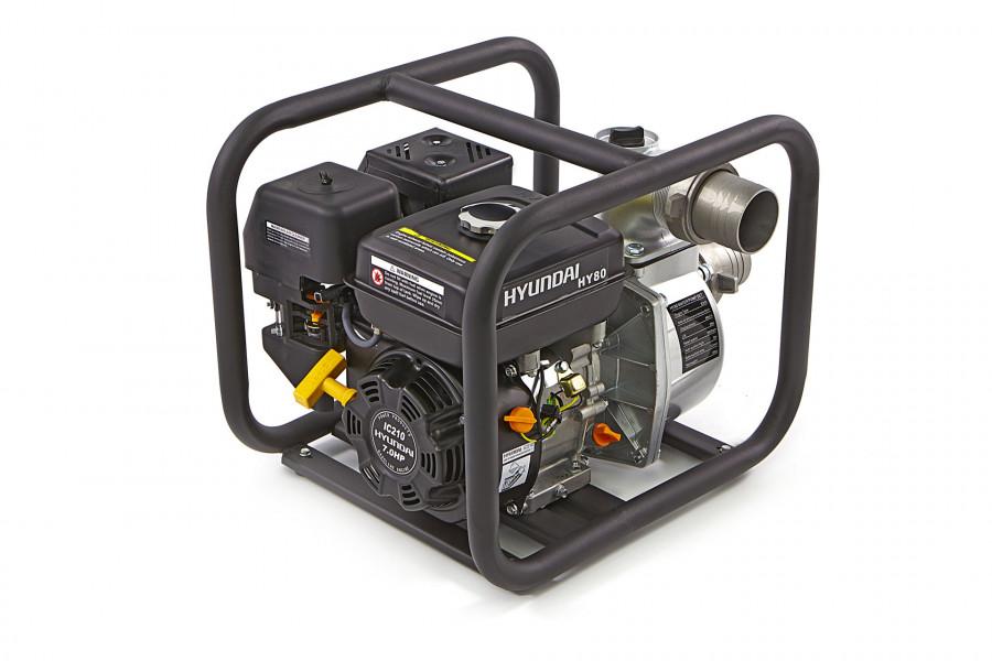 """Hyundai Schoonwaterpomp 80 MM (3"""") met 210cc Benzinemotor"""