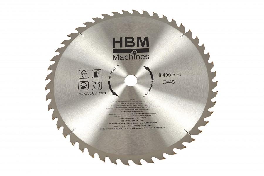 HBM 400 x 48T Cirkelzaagblad voor Hout - ASGAT 30 mm