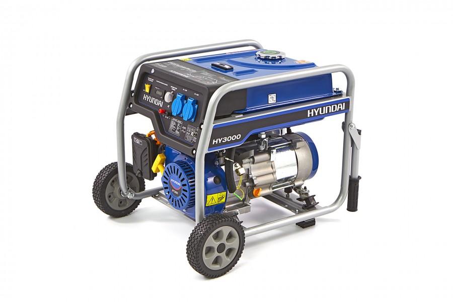 Hyundai 55021FHKD Generator, Aggregaat 2,6Kw, 200cc OHV-Benzinemotor