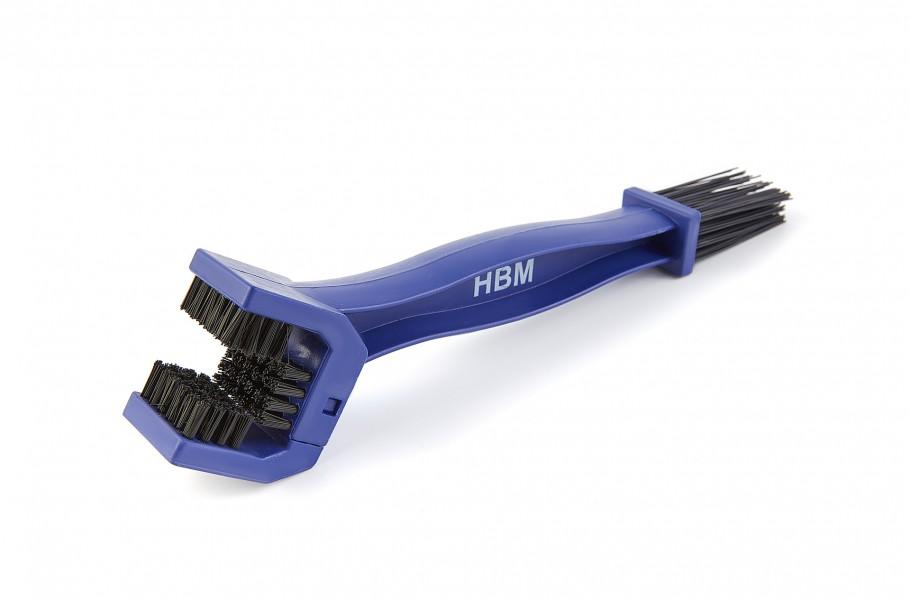 HBM 250 mm Dubbele Kettingborstel