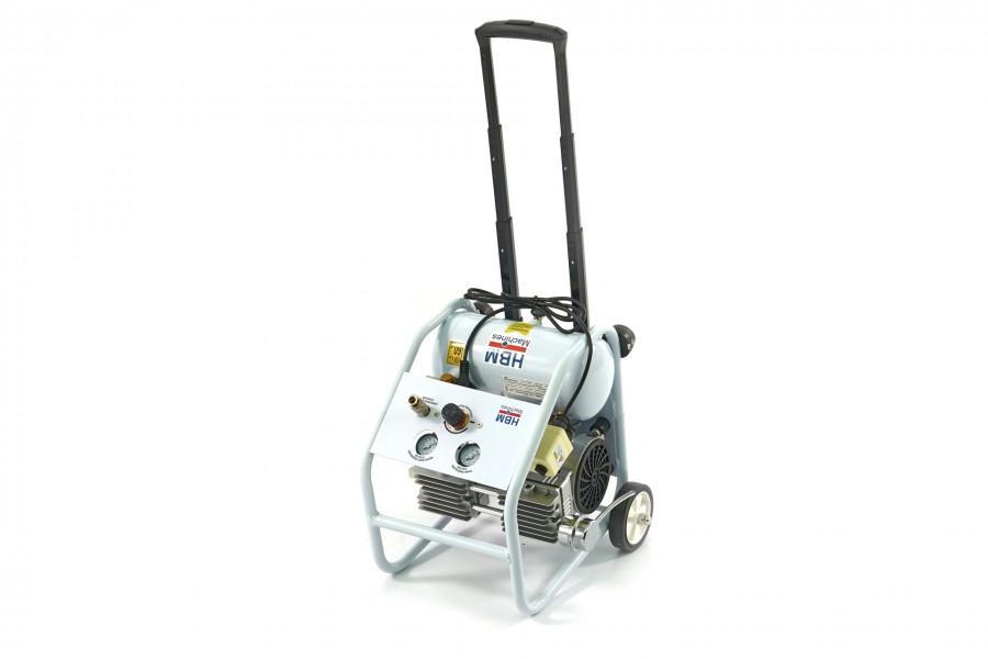 HBM 4 Liter Professionele Draagbare, Verrijdbare Low Noise Compressor