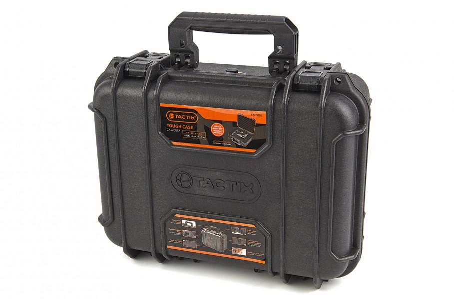 tactix ip65 watrdichte stofdichte en stootvaste polypropeen koffer 41,5 x 32,5 x 18,5 cm