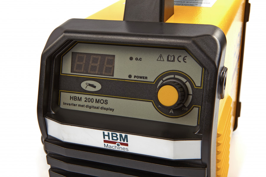 HBM 200A Inverter met Digitaal Display en IGBT Technologie