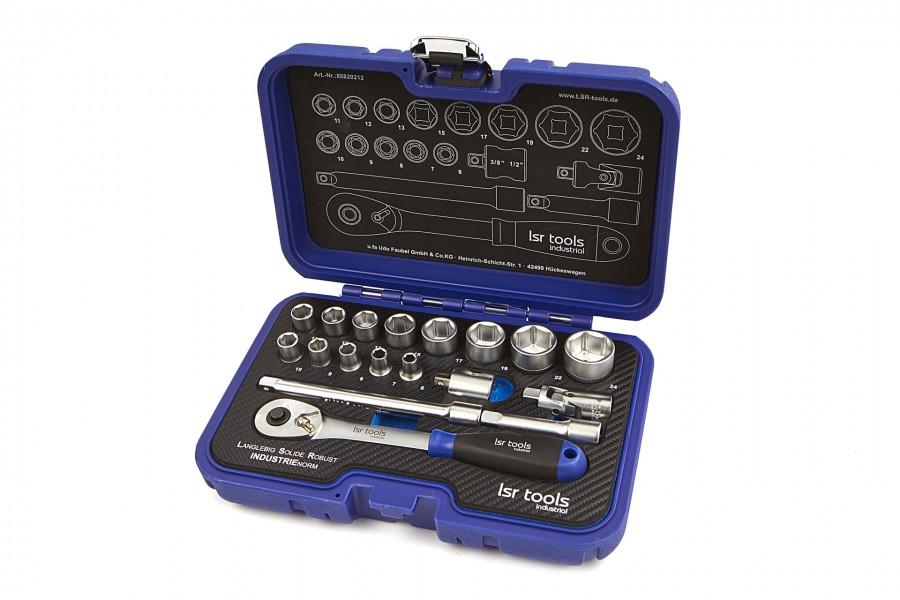 LSR Tools 18 Delige 3/8