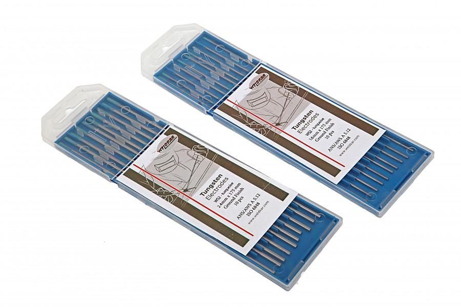 HBM Wolfram Elektrode Groen/Turquoise Verpakt per 10 stuks