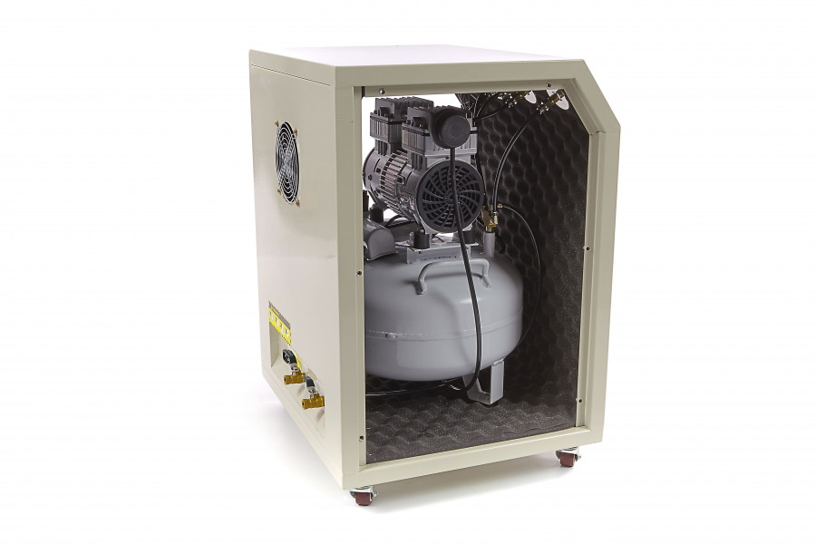 HBM Dental 30 Liter Professionele Low Noise Compressor