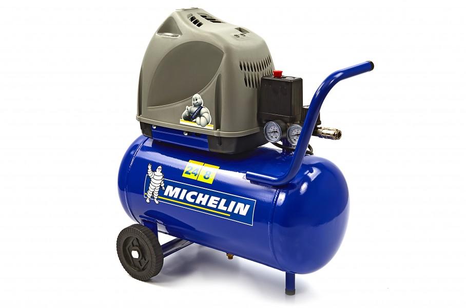 Michelin 1,5 PK 24 Liter Direct Aangedreven Compressor MB 24 U