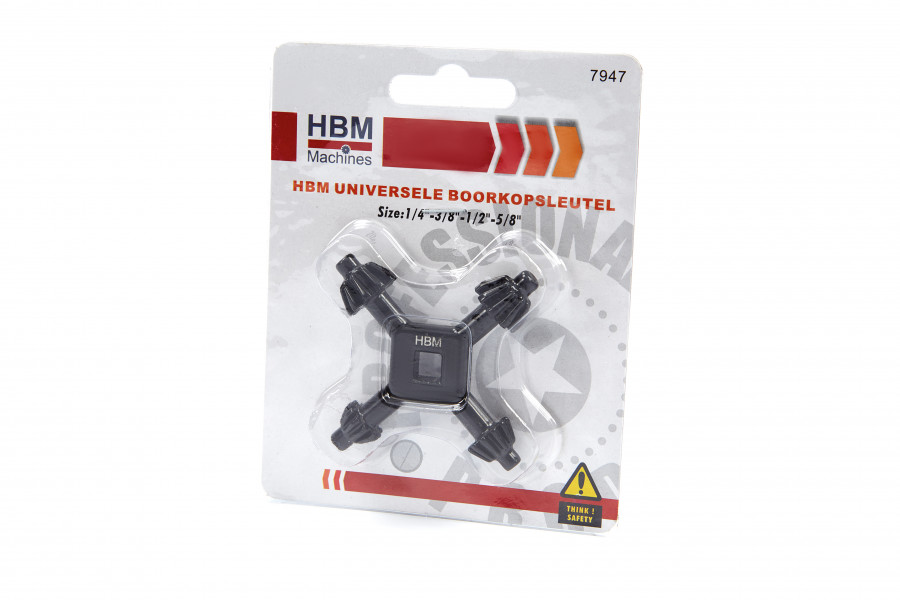 HBM Universele Boorkopsleutel