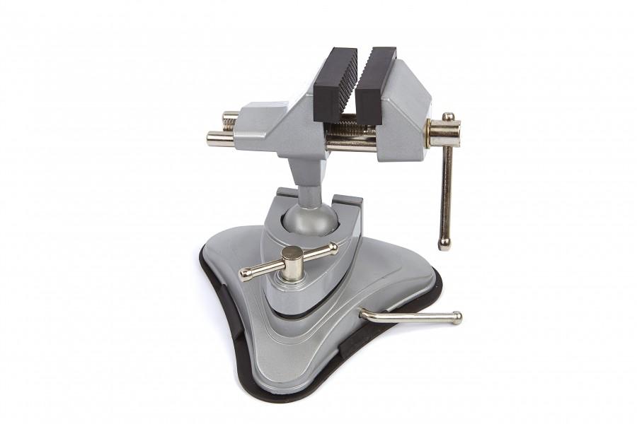 HBM 70 mm Bankschroef met Vacuum Tafelklem