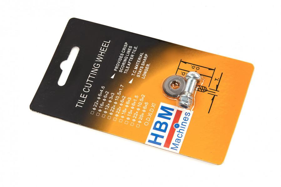 HBM Reserve Wiel Voor De HBM Professionele Tegelsnijder 600 mm