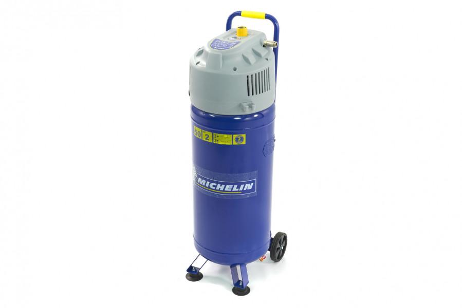 Michelin 50 Liter Verticale 2PK Olieloze Direct Aangedreven Compressor