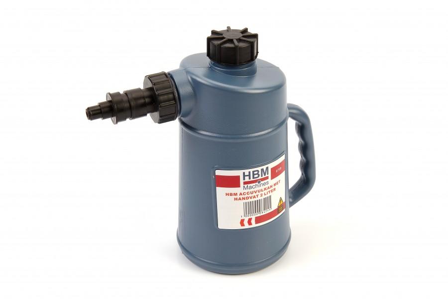 HBM 2 Liter Accuvulkan met handvat