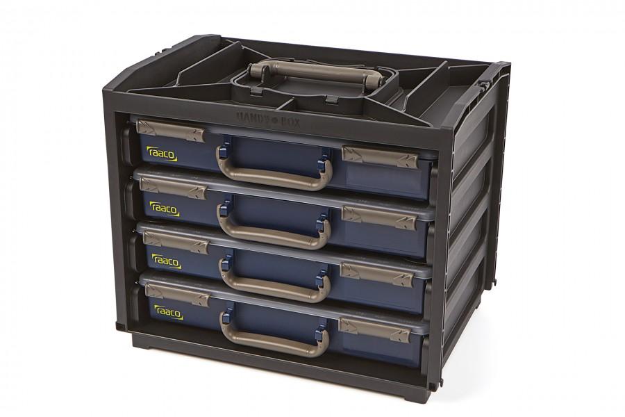 Raaco Assortimentsdoos Handy Box met 4 Assortimentsdozen
