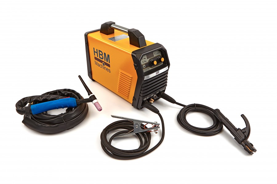 HBM 200 TIG Inverter met Digitaal Display en IGBT Technologie