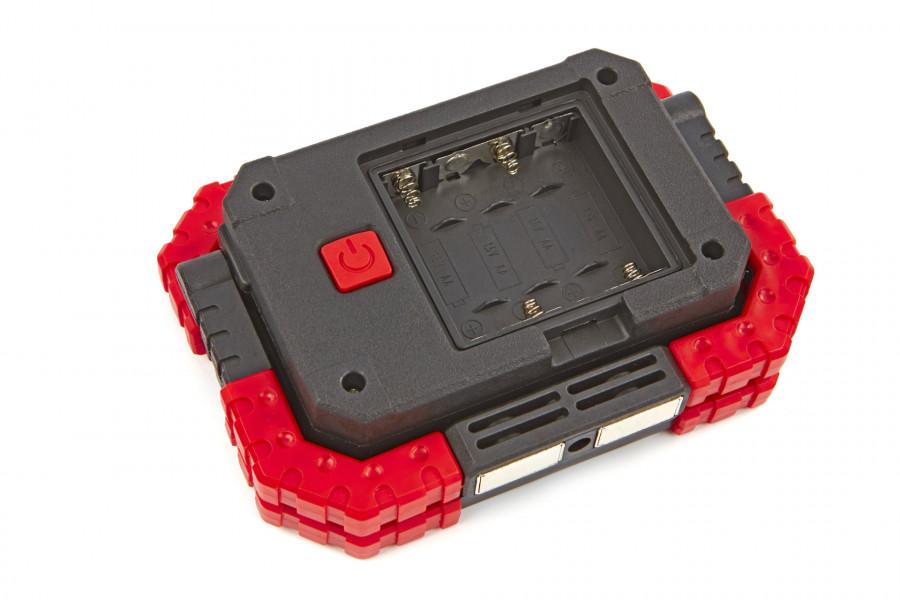 HBM LED Bouwlamp op Batterijen 10 Watt - 680 Lumen