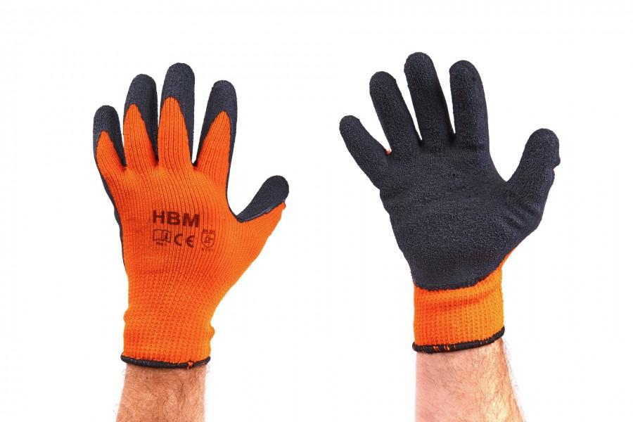 HBM Professionele Oranje Thermo Werkhandschoenen