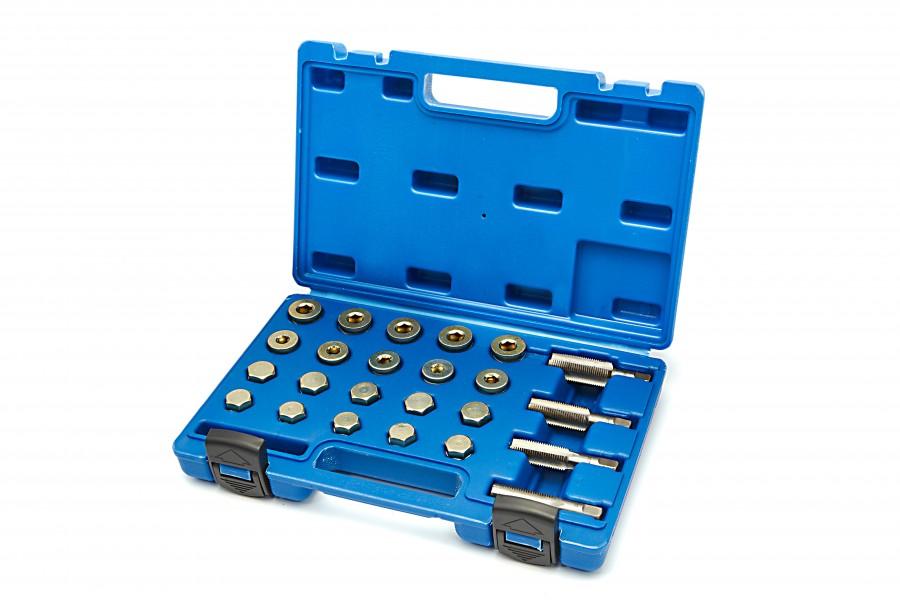 HBM 64 Delige Schroefdraad Reparatieset Olie Aftapplug M13 - M20